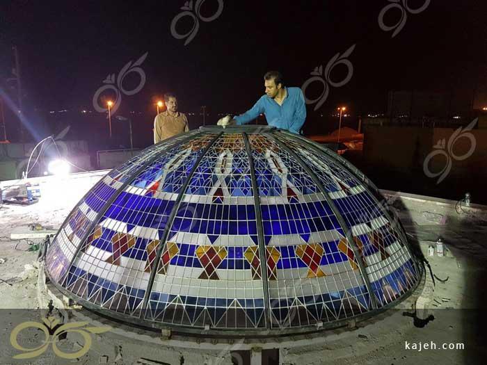 گنبد شیشه ای مسجد جابری