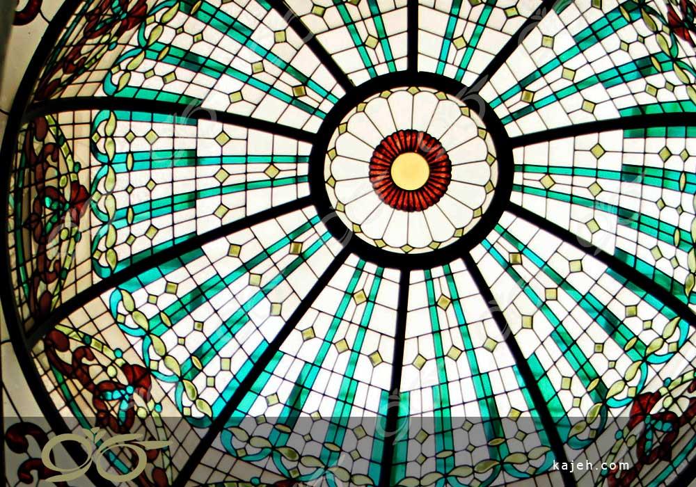 گنبد شیشه ای زعفرانیه
