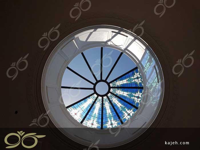 گنبد شیشه ای دکوراتیو یزد