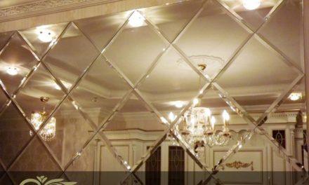 آینه تراش خورده – طراحی، تولید و نصب