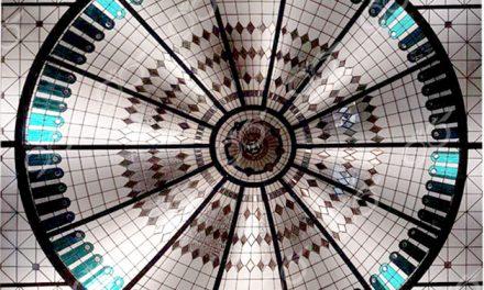 بانک توسعه صادرات ; ساخت گنبد شیشه ای دکوراتیو – با تکنیک تیفانی – استیند گلس