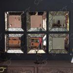 آینه آنتیک مربعی