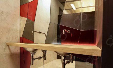 آینه ترکیب بندی ; یک آینه سفارشی و آنتیک