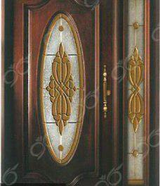 شیشه درب لابی مدل 02