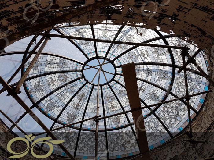 گنبد شیشه ای و دکوراتیو باغ فردوس