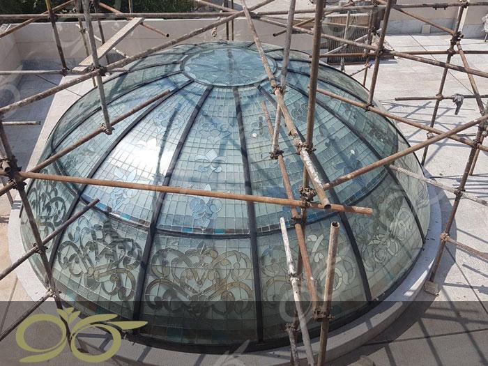گنبد شیشه ای باغ فردوس
