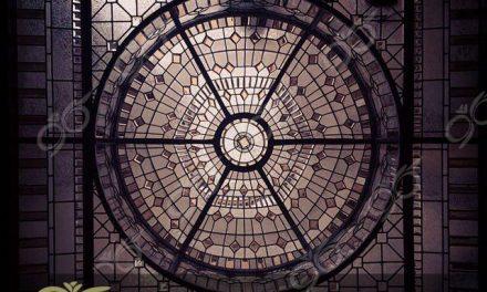 نارنجستان ; ساخت گنبد شیشه ای دکوراتیو – با تکنیک تیفانی – استیند گلس ( استین گلاس )