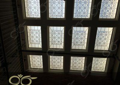 سقف نورگیر پروژه خیابان البرز