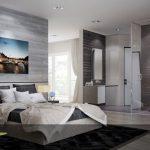 وجود حمام شیشه ای اختصاصی در اتاق خواب