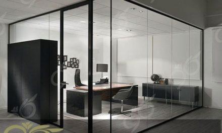 دیوار های شیشه ای ; پارتیشن ها و دیوارپوش های شیشه ای