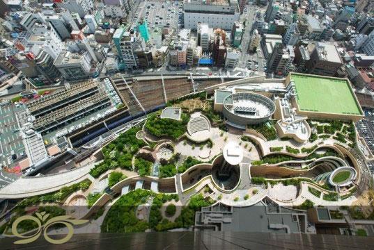 باغ بام های معروف دنیا