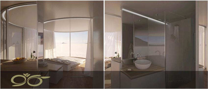 با درب های منحنی شکل جدید از مناظر خانه خود لذت ببرید.