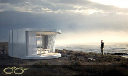 با درب های منحنی شکل جدید از مناظر خانه خود لذت ببرید