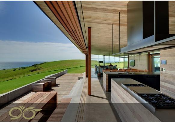 پنج نکته در طراحی آشپزخانه ی لوکس