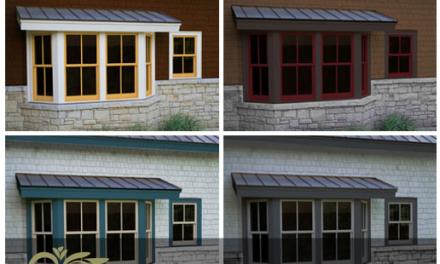 طراحی درب و پنجره هایی در رنگ های متنوع و دلخواه مشتریان