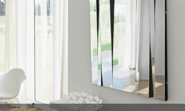 یک آینه کاری مدرن برای اتاق نشیمن