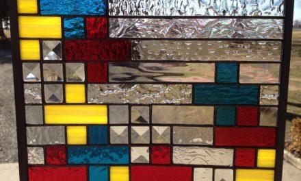 رنگ در استیندگلس ( استین گلاس ) چگونه بوجود آمده است