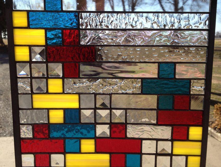 رنگ در استیندگلس چگونه بوجود آمده است