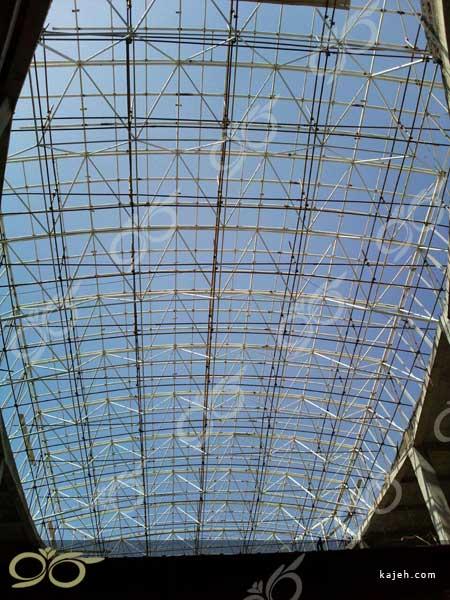 اجرای سقف نورگیر پلی کربنات - تنکابن