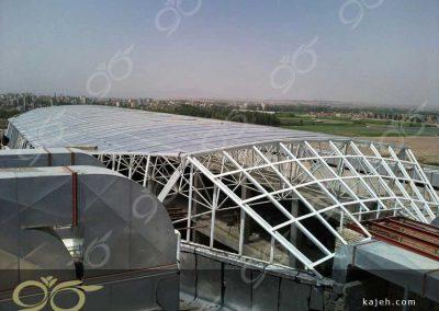 پوشش پلی کربنات سقف پاساژ - تنکابن