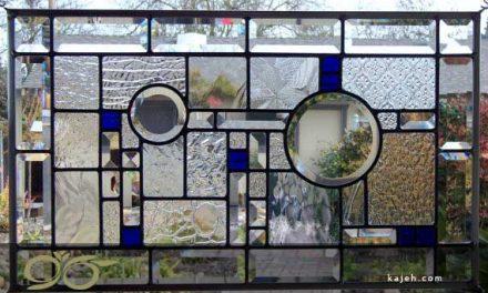استیند گلس ( استین گلاس )  جداکننده ایی از فلز و شیشه – پارتیشن شیشه ای استین گلاس