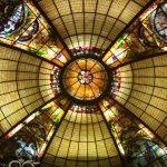 2تکنیک اجرای گنبد های شیشه ای تزئینی