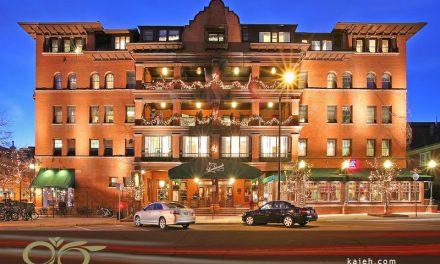 شیشه های تزئینی و سقف نورگیر شیشه ای هتل بولدرادو – کلرادو