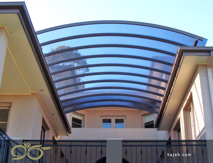 تنوع سازه های نورگیر پلی کربنات