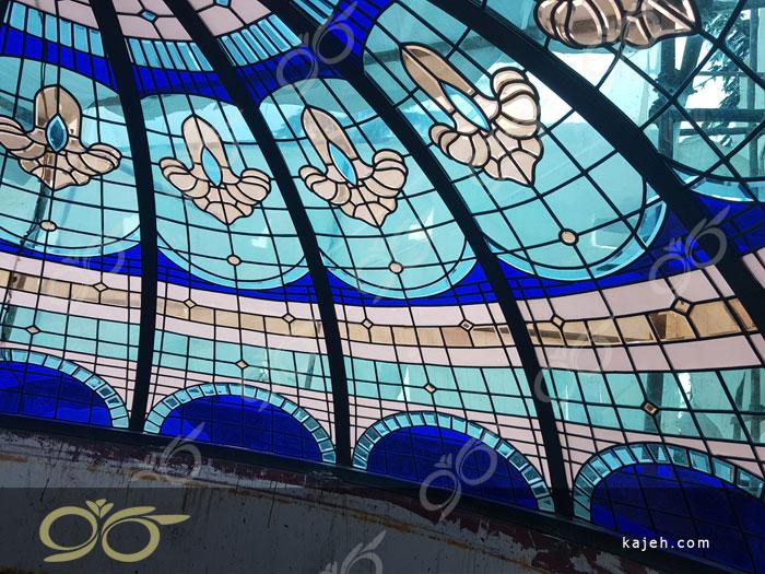 گنبد شیشه ای شهرک غرب - فلامک شمالی