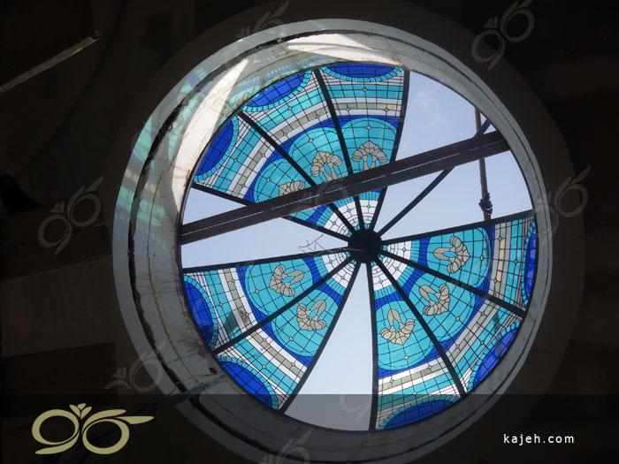 گنبد شیشه ای استیند گلس - تیفانی - پروژه شهرک غرب