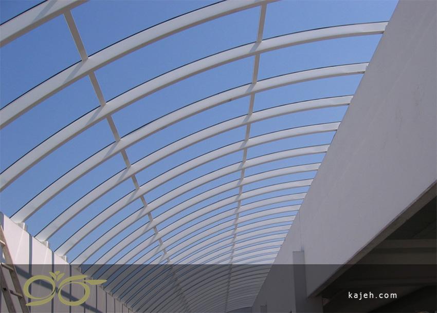 سازه گنبدهای پلی کربنات