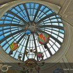 گنبدهای شیشه ای طرح مدرن