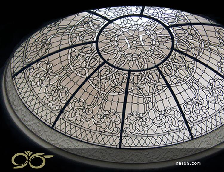 گنبد شیشه ای با قطر 2.5 متر