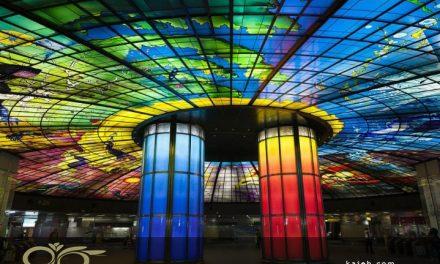 کاربرد گنبدهای شیشه ای استیند گلس در معماری مدرن