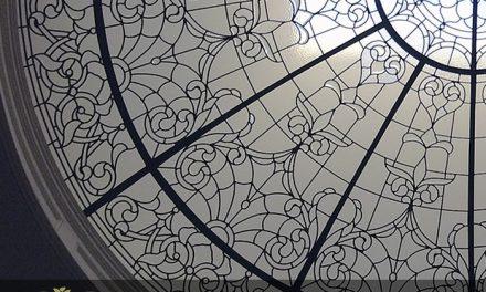 گنبد شیشه ای طرح کلاسیک