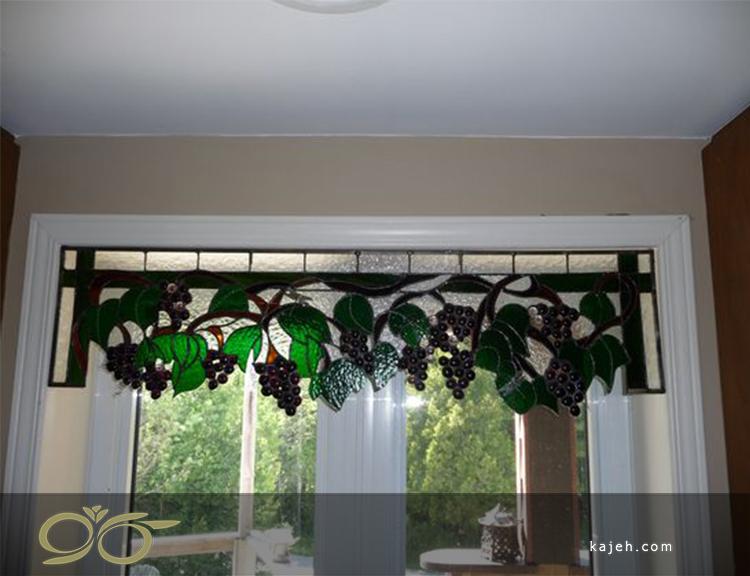 شیشه های تزئینی استیندگلس مناسب نورگیر نشیمن