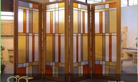 کاربرد شیشه های تزئینی به عنوان جدا کننده در فضا