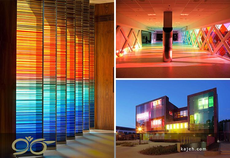 شیشه های استیندگلس و طراحی مدرن