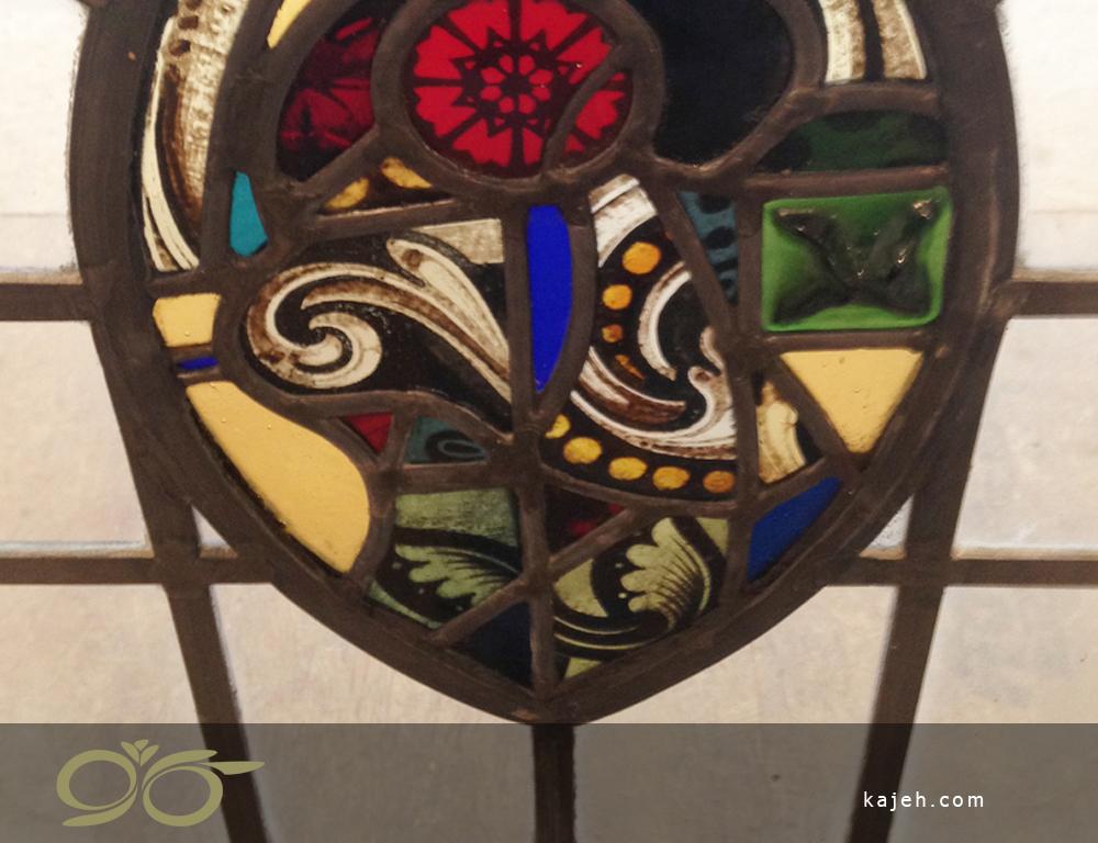 خانه چوبی با طرح استیندگلس | صنایع دستی و دکوراسیون با استیندگلس