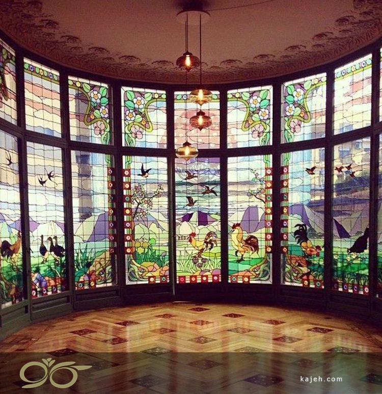 نحوه ترکیب نور و شیشه های استیندگلس