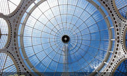 سقف نورگیر شیشه ای برای دکوراسیون داخلی