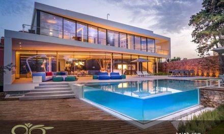 ساخت استخرهای شیشه ای در هتل ها و ویلا های شخصی