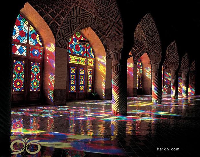 تاریخچه ی استفاده از تکنیک تیفانی در معماری ساختمان ها در ایران