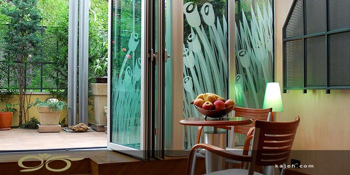 کاربرد انواع شیشه های تزیینی برای منزل
