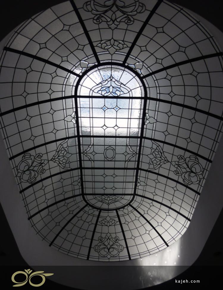گنبد/ سقف نورگیر شیشه ای استیند گلس