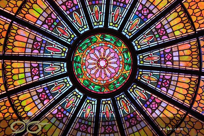 گنبدهای شیشه ای استیند گلس ، جلوه ای از فرهنگ و هنر ایرانی