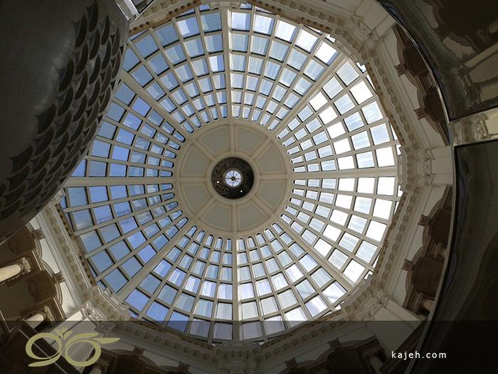 کاربرد گنبدهای شیشه ای دکوراتیو در معماری ایرانی