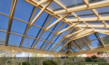 نورگیر پلی کربنات برای سقف ساختمان های مختلف