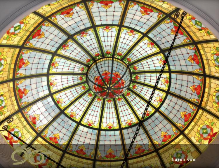 اشکال مختلف گنبد شیشه ای استیند گلس