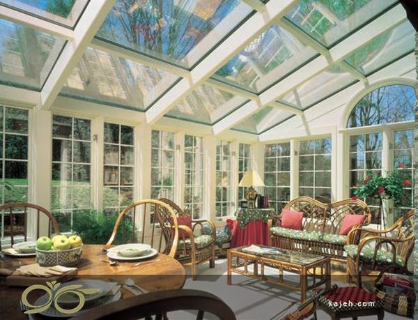 سقف نور گیر شیشه ایی مناسب برای انواع ساختمان